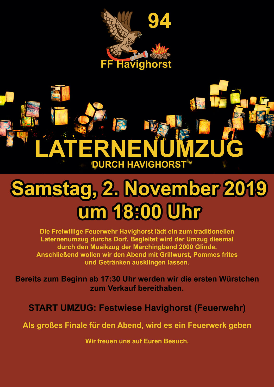 Flyer Laterne 19 VS V2